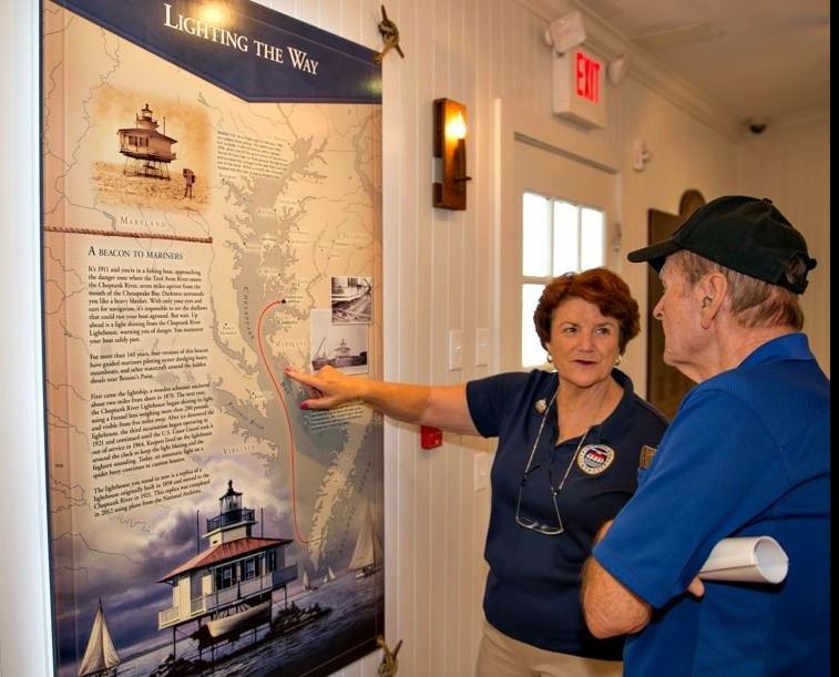 Lighthouse Volunteer JoAnne Baker