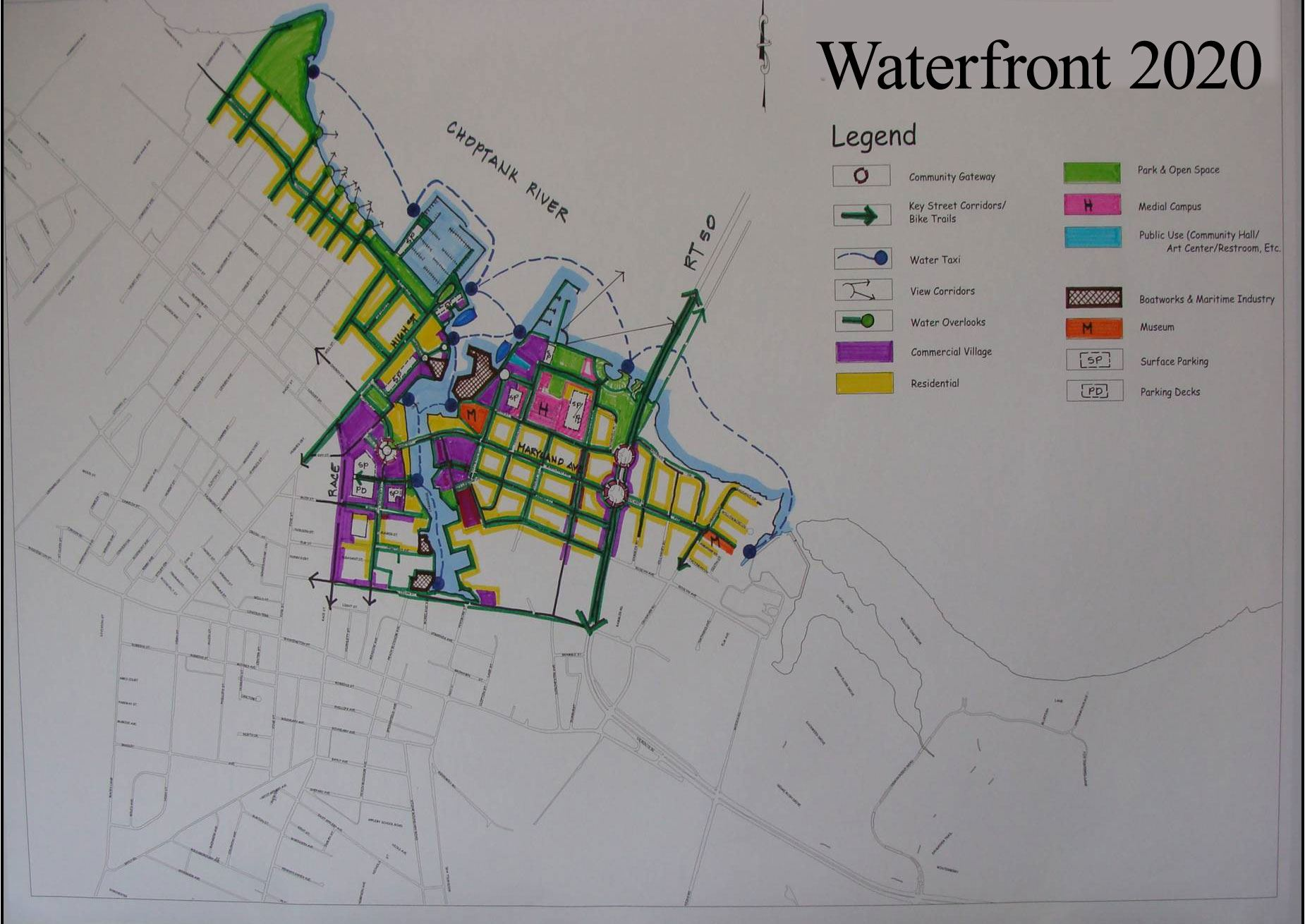Waterfront 2020 Map
