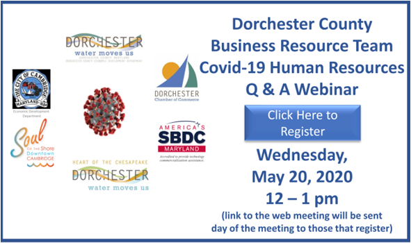 Dorchester County Business Resource Team Covid19 Human Resources Q & A Webinar